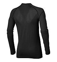 Asics Seamless LS - maglia running - uomo, Black
