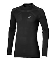 Asics Seamless LS langärmliges Runningshirt, Black
