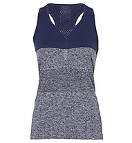 Asics Seamless - Top fitness - donna, Blue