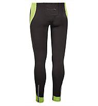 Asics Tight Lasse donna - Pantaloni Running, Black/Lime