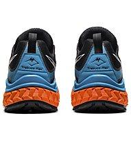 Asics Trabuco Max - Trailrunningschuh - Herren, Black/Blue/Orange