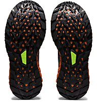 Asics Trabuco Max - scarpe trail running - donna, Black/Violet/Orange