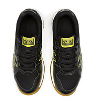 Asics Upcourt 3 GS - scarpe da palestra - bambino, Black/Yellow