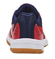 Asics Upcourt 3 GS Boy - scarpe da ginnastica pallavolo - bambino, Red/Blue