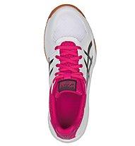Asics Upcourt 3 W - Volleyballschuhe - Damen, White/Pink