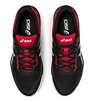 Asics Upcourt 4 - scarpe pallavolo - uomo, Black/Red/White