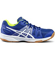 Asics Upcourt GS Hallenschuh Kinder, Blue/White