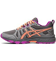 Asics Venture 7 GS - scarpe trail running - bambina, Grey