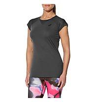 Asics Workout Top Tee - Yoga- und Trainingsshirt - Damen, Grey