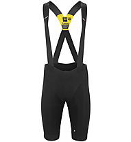 Assos Equipe RS Spring Fall - pantaloni bici con bretelle - uomo, Black
