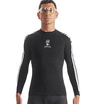 Assos LS.skinFoil_earlyWinter_s7 langärmliges Funktionsshirt für Biker, blackVolkanga