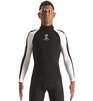 Assos LS.skinFoil_winter_evo7 - maglietta tecnica bici - uomo, Black