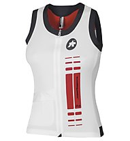 Assos nS. superLeggera S/L Lady - Maglia Ciclismo, Swiss Red