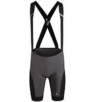 Assos Xc - pantaloni bici con bretelle - uomo, Black