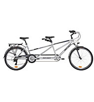 "Atala Bici Tandem Due Smart 16"", Silver/Black"