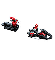 ATK Bindings Raider 12 2.0 Skibindung Freeride, Black/Red
