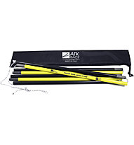 ATK Bindings Rescue Snow Carbon Probe Sonde, Yellow/Black