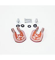 ATK Race SL Heel Cover Kit, Orange/Black/Metal