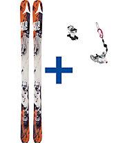 Atomic Backland 85 - Tourenski Set: Ski + Bindung