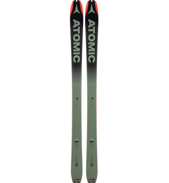 Atomic Backland 95 Sportler Edition - sci da scialpinismo/freeride, Green