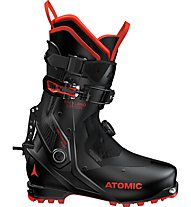 Atomic Backland Carbon - scarpone scialpinismo, Black/Red