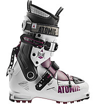 Atomic Backland W - scarpone scialpinismo donna, White/Violet/Black