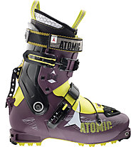 Atomic Backland Women (2015/16) - scarpone scialpinismo donna, Purple/Yellow