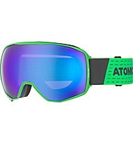 Atomic Count 360° HD - maschera sci, Green/Grey