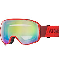 Atomic Count 360 Stereo - Skibrille, Red