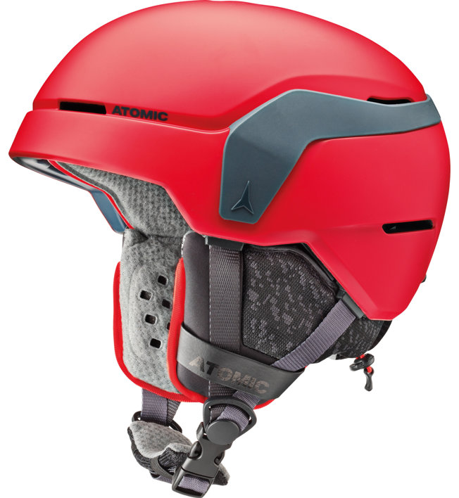 Atomic Count Jr - casco sci - bambino, Red