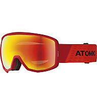 Atomic Count Jr Spherical - Skibrille, Red