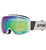 Atomic Count Stereo - maschera sci alpino, White