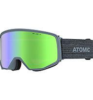 Atomic Four Q HD - maschera sci, Grey