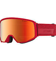 Atomic Four Q HD - Skibrille, Red