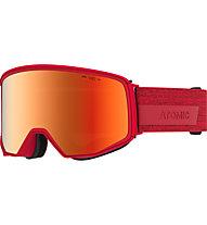 Atomic Four Q HD - maschera sci, Red