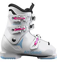 Atomic Hawx Girl 3 - scarponi sci - bambina, White/Pink