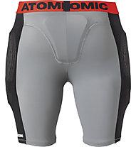Atomic Live Shield Shorts - pantaloni protettivi, Grey/Black