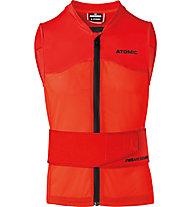 Atomic Live Shield Vest Amid - gilet protettivo, Red