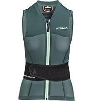 Atomic Live Shield Vest Amid Women - gilet protettivo - donna, Green