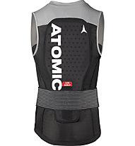 Atomic Live Shield Vest M - gilet protettivo - uomo, Black/Grey