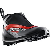 Atomic Motion 35 - Scarpe Sci Fondo Classico, Black/Red