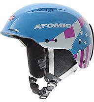 Atomic Redster LF SL Mikaela - casco sci, Mikaela Blue