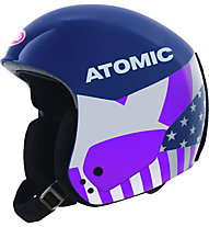 Atomic Redster Replica Mikaela - Skihelm - Damen, Light Blue/Purple