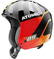 Atomic Redster Replica Marcel - casco sci alpino, Black/Orange