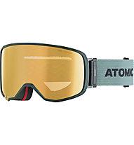 Atomic Revent L FDL Stereo - Skibrille, Green