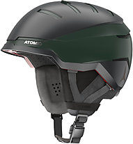 Atomic Savor GT Amid - casco sci alpino, Black/Dark Green