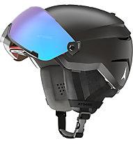 Atomic Savor Visor Stereo - casco sci alpino, Black