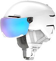 Atomic Savor Visor Stereo - casco sci alpino, White