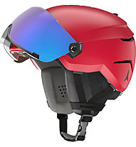 Atomic Savor Visor Stereo - casco sci alpino, Red