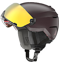 Atomic Savor Visor Stereo - casco sci alpino, Dark Purple